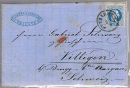 Austria, 1871, Trieste-Villigen - 1850-1918 Imperium