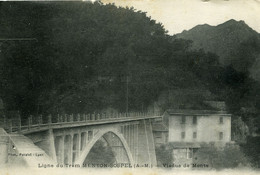 Viaduc De Monti Ligne Du Tramway Menton Sospel - Otros Municipios