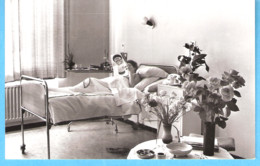 Nederland-Holland-Pays Bas-Sluiskil (Terneuzen-Zeeland) St. Elisabeth Ziekenhuis -Klassekamer-1961 - Terneuzen