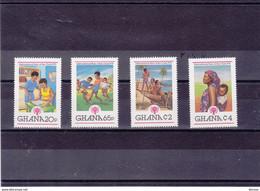 GHANA 1979 Année Internationale De L'enfant Yvert 665-668 NEUF** MNH - Ghana (1957-...)