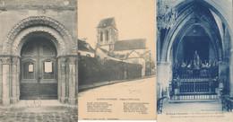95-Saint Ouen L'Aumone L'Eglise 3CPA - Saint-Ouen-l'Aumône