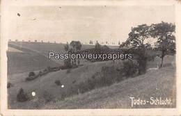 CARTE PHOTO VIONVILLE TODES SCHLUCHT (REZONVILLE GRAVELOTTE) Guerre De 1870 - Other Municipalities