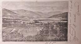 Cartolina - Oggiono Visto Dal Chiare - 1900 - Lecco