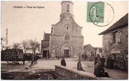 12 FOISSAC - Place De L'Eglise - Altri Comuni