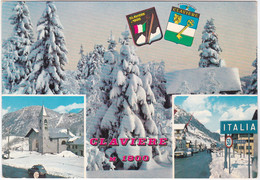CLAVIERE - TORINO - VIAGG. 1973 -3178- - Italy