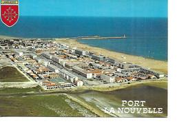 11 PORT LA NOUVELLE Cpm Vue Aérienne - Port La Nouvelle