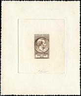EPREUVES D'ARTISTES ET D'ATELIER -  1043   Gérard De Nerval, épreuve D'artiste En Brun Signée + épreuve De Luxe Et Photo - Prueba De Artistas