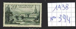 Lot Timbres Français N° 394 , De 1938, Oblit - France