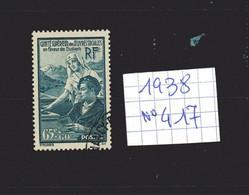 Lot Timbres Français N° 417 , De 1938, Oblitérés - France