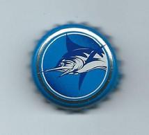 B 170 - CAPSULE DE BIERE -  BLUE MARLIN - ÎLE MAURICE - Beer
