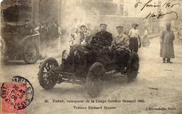 THERY  Vainqueur De La Coupe Gordon Bennett 1905 Voiture  Richard Brasier Vendu Dans L'état - Sin Clasificación