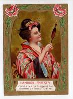 - CHROMO L'AMIDON REMY - Conserve Le Linge Et Lui Donne Un Beau Lustre - GAILLON (Eure) - - Autres