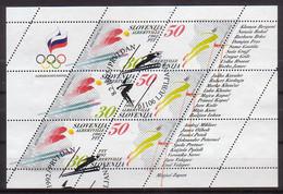 Slowenien, Olympia'92,  6/7 KB , O  (4566) - Slowenien