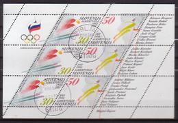 Slowenien, Olympia'92,  6/7 KB , O  (4567) - Slowenien