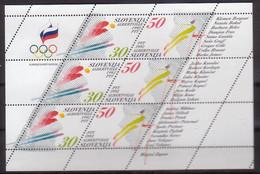 Slowenien, Olympia'92,  6/7 KB , Xx  (4565) - Slowenien