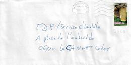 TP N° 3769 Seul Sur Enveloppe De Le Canet - 1961-....