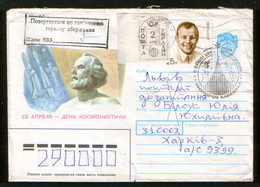 Ukraine Cover, Local Stamps Kiev 2 Krb., With A Return After The Expiration Of The Storage Period - Ukraine