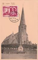 Carte Maximum -  Loppem - L'Eglise (De Kerk) - 1934-1951