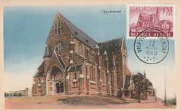 Carte Maximum -  Chèvremont - 1934-1951