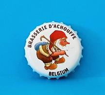 Capsules Ou Plaques De Muselet   BIÈRE  BRASSERIE D'ACHOUFFE  BIERE BLANCHE - Beer
