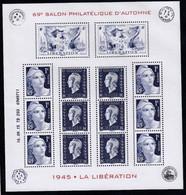 France, 70e Anniversaire De La Libération, Feuillet Neuf ** N° YT F4986, 2015 - Sheetlets