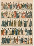 Planche De 1904 21 X 29,6 Cm / Costumes Religieux / Religion / Religions Diverses Costume Habits // VP 144/1 - Oude Documenten