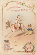 Chromo  Liebig  :  Pierrot à Cheval   ///   Ref. Oct. 20 :  BO. 58 - Liebig