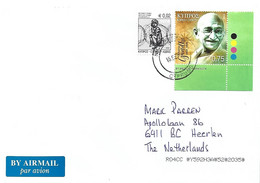 Cyprus 2020 Nicosia SBO Mahatma Gandhi Cover - Mahatma Gandhi