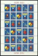 Aland 1993 Mi Jol1993 MNH ( XZE3 ALNjol1993 ) - Weihnachten