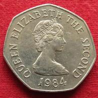 Jersey 50 Pence 1984 KM# 58.1 - Jersey