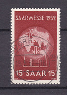 Saarland - 1952 - Michel Nr. 317 - BPP Gepr. - Gestempelt - Used Stamps