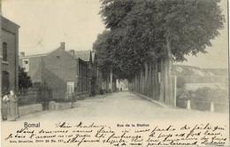 Bomal Rue De La Station  Série 26  N° 197 Circulée En 1903 - Durbuy