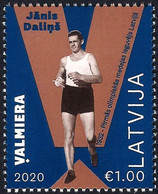 Latvia Lettland Lettonie 2020 (13) Janis Dalins - Walking - First Olympic Medal Of Latvia - Los Angeles 1932 - Lettonia