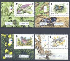 Jersey 2004 WWF Endangered Species MNH - Unused Stamps