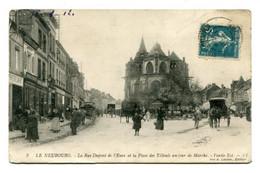 27 - LE NEUBOURG - La Rue Dupont De L' Eure Et La Place Des Tilleuls Un Jour De Marché - Partie Est - I I - Le Neubourg