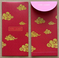 CC Chinese New Year 'ESTEE LAUDER' LUNAR NEW YEAR Red Pocket CNY Chinois - Parfumkaarten