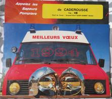CALENDRIER Des SAPEURS POMPIERS 1994, DISTRIBUÉ À CADEROUSSE MAIS VUES NON LIÉES AU VILLAGE - Groot Formaat: 1991-00