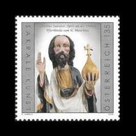 Austria 2020 Mih. 3558 Medieval Art. Sculpture Of Christ The Saviour From Parish Church Of St. Maurice In Spitz MNH ** - 2011-... Neufs
