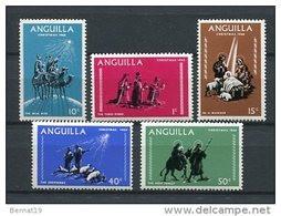 Anguilla 1968. Yvert 28-32 ** MNH. - Anguilla (1968-...)