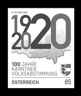 Austria 2020 Mih. 3560 Carinthian Plebiscite (black Proof) MNH ** - Proeven & Herdruk