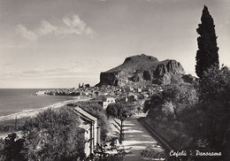 CEFALÚ-PALERMO-PANORAMA- CARTOLINA VERA FOTOGRAFIA  VIAGGIATA IL 28-9-1953 - Palermo