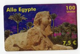 FRANCE ALLO EGYPTE 100U Date 12/2003 PALMIER - Prepaid-Telefonkarten: Andere