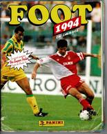 Image- Figurine Autocollante ALBUM PANINI  -  FOOT 1994 , Championnat FRANCE :1 Et 2 ème Division, Manque 10 Figurines . - Stickers