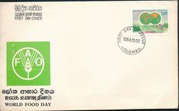 °°° SRI LANKA - FDC 1984 °°° - Sri Lanka (Ceylon) (1948-...)