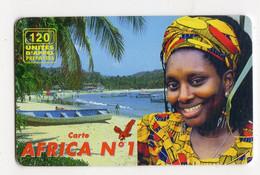 FRANCE EAGLE TELECOM 120U PALMIER - Prepaid-Telefonkarten: Andere