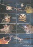 2012 Argentina Bats Miniature Sheet Of 8  MNH - Ungebraucht