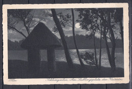 Deutsches Reich - 1933 - Postkarte - Plön - Schlossgarten - Used Stamps