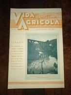 """Revista Portuguesa  Nº 78 Year 1950 """"VIDA AGRICOLA"""" Capa, Uma Linda Paisagem Do Vale Do Vouga. - Books, Magazines, Comics"""