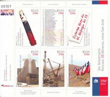 2013 Chile Mining Rescue Miniature Sheet Of 6  MNH - Chili