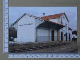 PORTUGAL - ESTAÇÃO DE CAMINHO DE FERRO -  ALBEGARIA-A-VELHA - 2 SCANS  - (Nº11378) - Aveiro